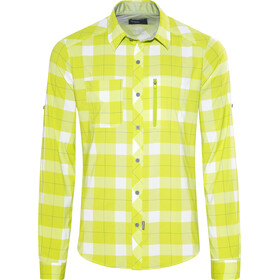 Bergans Jondal Chemise manches longues Homme, spring leaves/white check